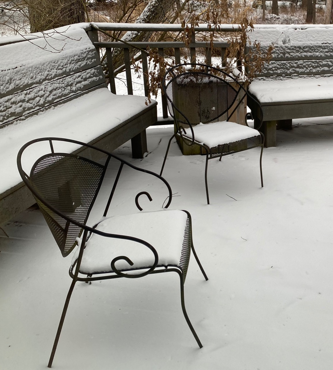 winter chairs